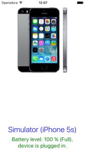 Simulator (iPhone 5S)
